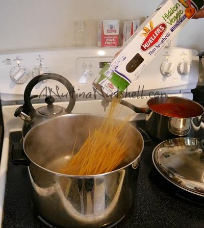 Mueller's Hidden Veggie Pasta Thin Spaghetti