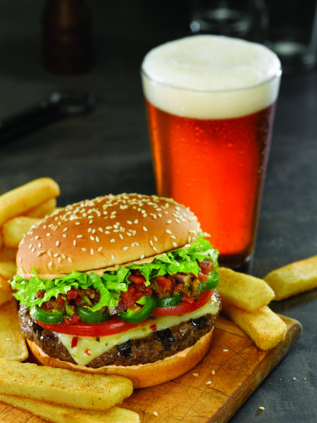 Red Robin 5AlarmBurger&Beer