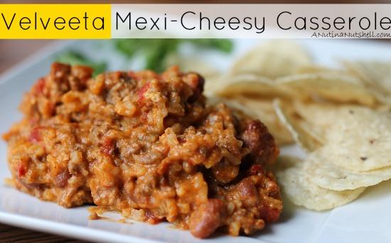 Velveeta Mexi-Cheesy Casserole
