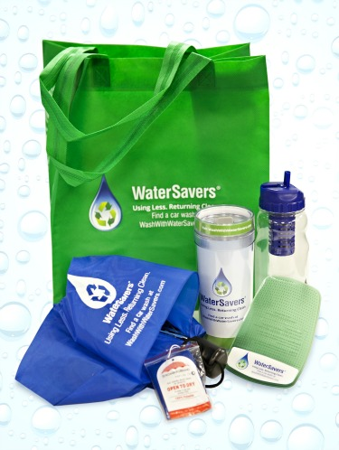 WaterSavers prize pack