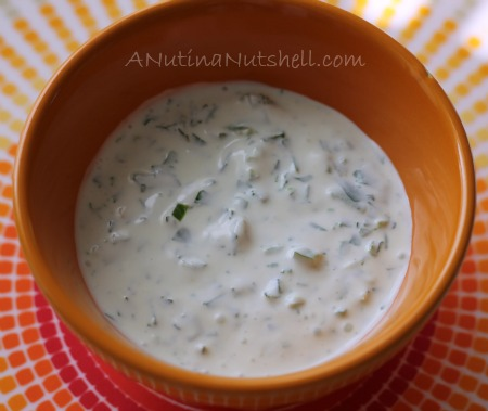 Cilantro-Jalapeno Cream #recipe