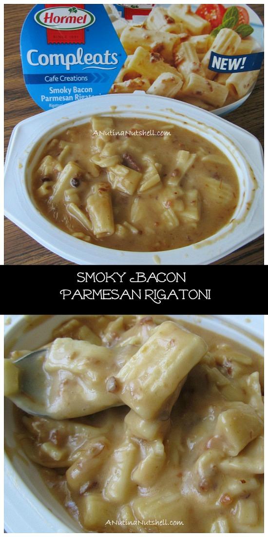 Hormel Compleats Smoky Bacon Parmesan Rigatoni