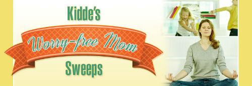 Kidde's Worry-Free Mom Sweepstakes