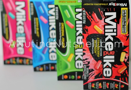 Mike and Ike candy boxes