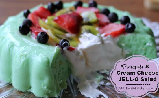 Pineapple & Cream Cheese-JELL-O-Salad