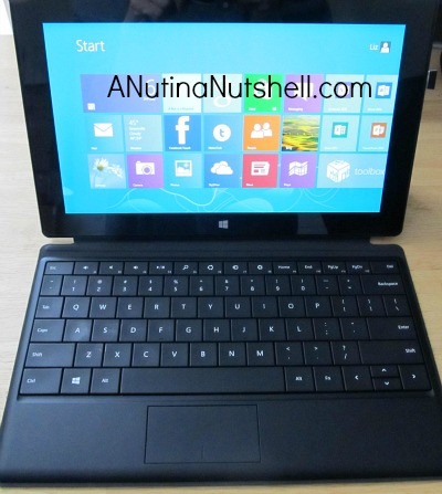Surface RT tablet with type cover