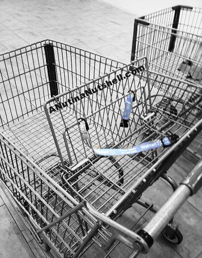 Walmart-shopping cart