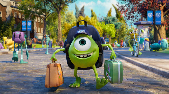 Monsters University Mike screenshot