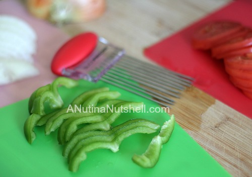 Slice Precise - cutting peppers