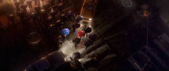 The Blue Umbrella screenshot