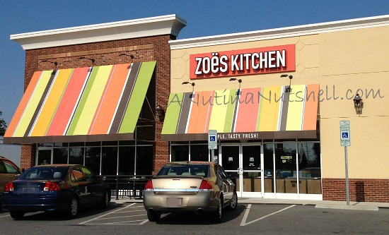 Zoes Kitchen restaurant