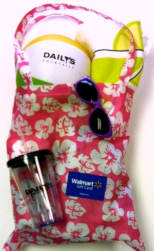 Daily's prize pack