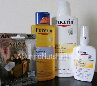 Eucerin- July 2013 prize pack