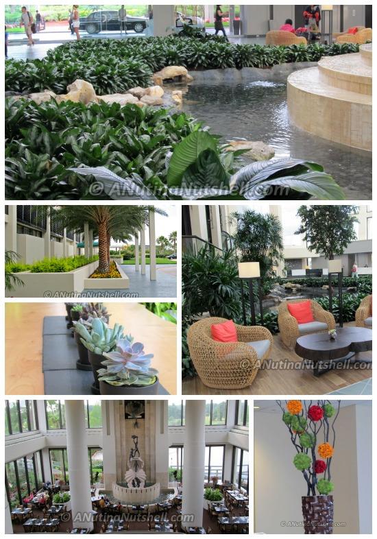 Hyatt Regency Grand Cypress Orlando lobby area
