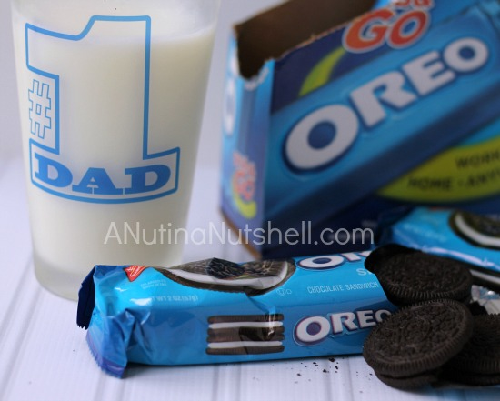 OREO cookies and milk