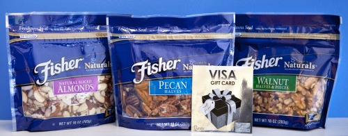 Fisher Nuts summer prize pack