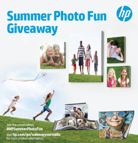 HP Summer Photo Fun Giveaway