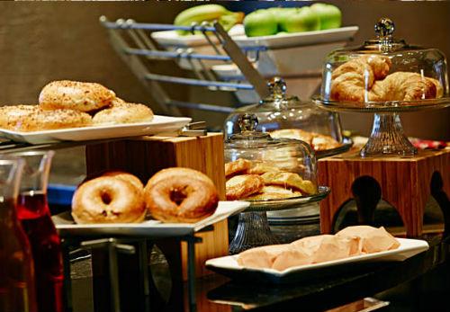 JW Marriott NOLA Concierge breakfast