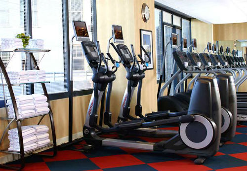 JW Marriott NOLA Fitness room