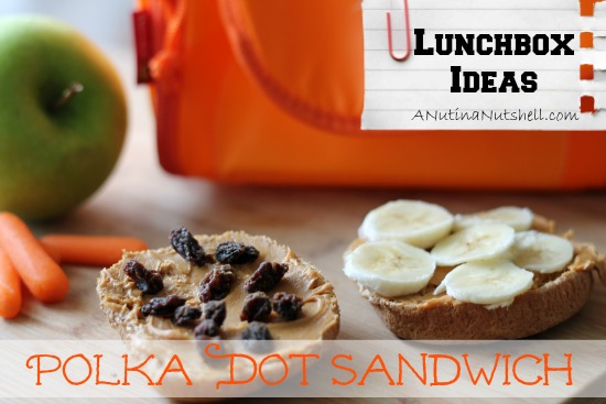 Lunchbox ideas - Polka Dot sandwich