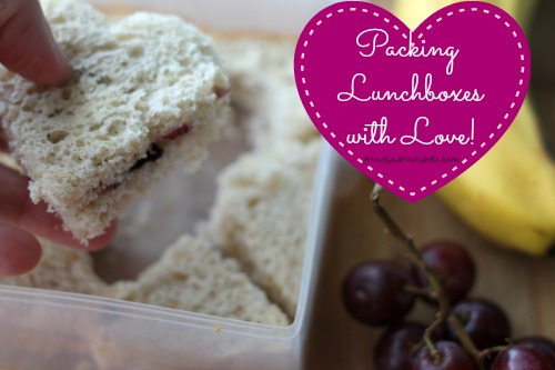 Packing lunchboxes with love - lunchbox sandwich ideas