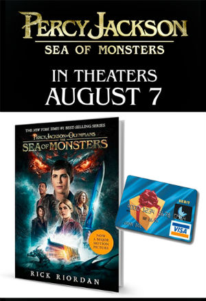 Percy Jackson Sea of Monsters movie prize pack