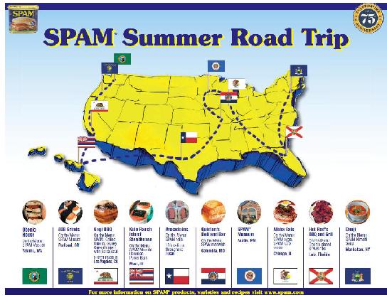 SPAM summer road trip
