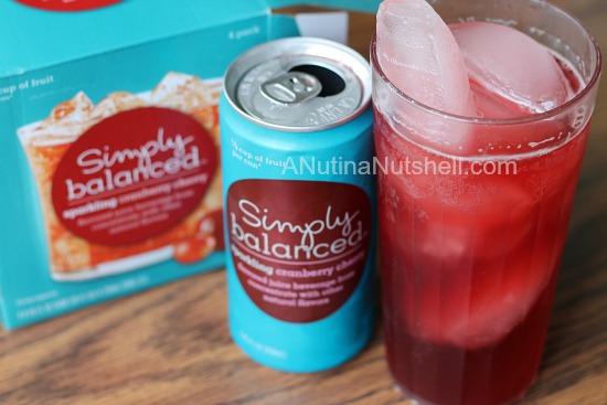 Simply Balanced Sparkling Juice - Target