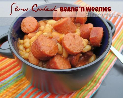 Slow Cooked Beans 'n Weenies #recipe #HebrewNational