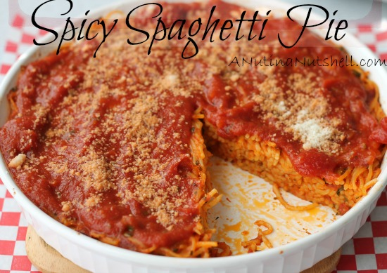 Spicy Spaghetti Pie recipe