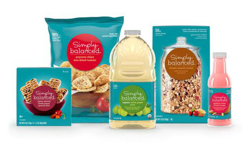 Target Simply Balanced products