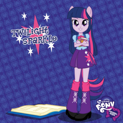 Twilight Sparkle MY LITTLE PONY Equestria Girls Dolls