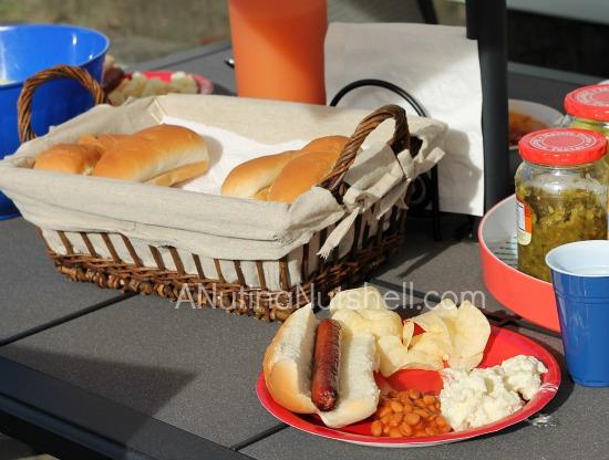 backyard cookout #99summerdays