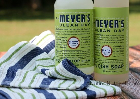 Mrs. Meyers aromatherapeutic household cleaners