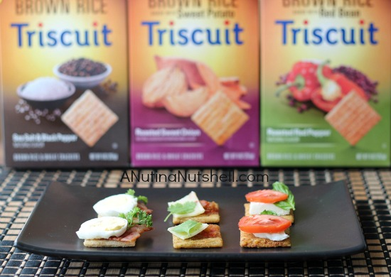 Triscuit brown rice crackers