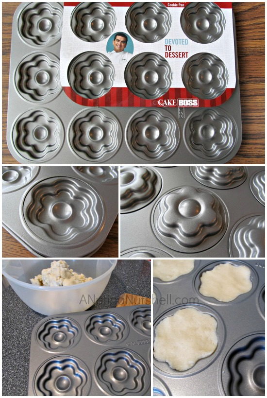 Cake Boss Flower Molded Cookie Pan