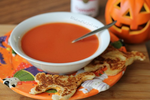 Campbell's Tomato Soup and grilled cheese