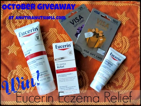 Eucerin Eczema Relief prize pack October 2013