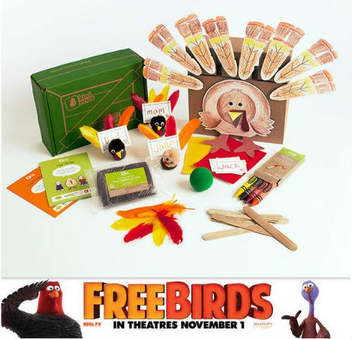 Free Birds movie prize pack