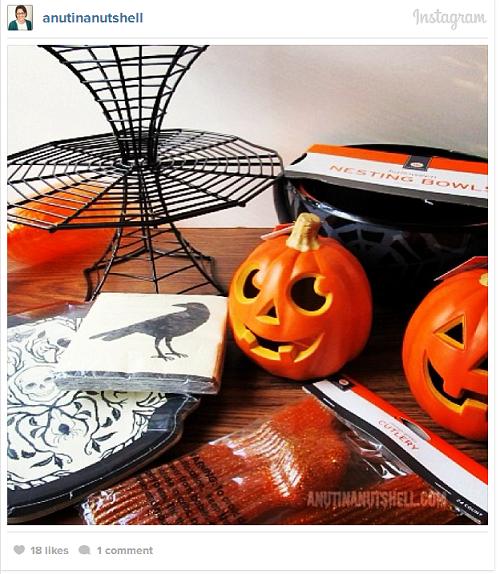 Halloween decor from Target