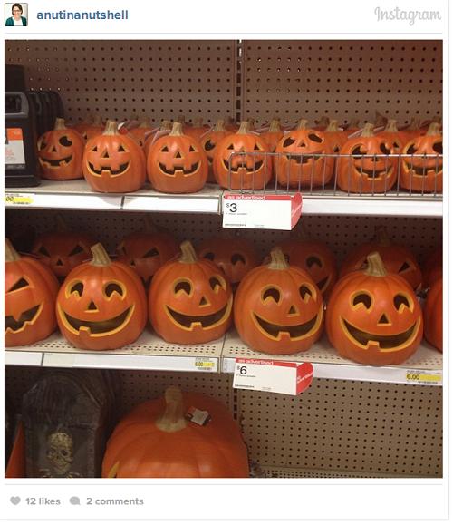 Halloween pumpkins - Target
