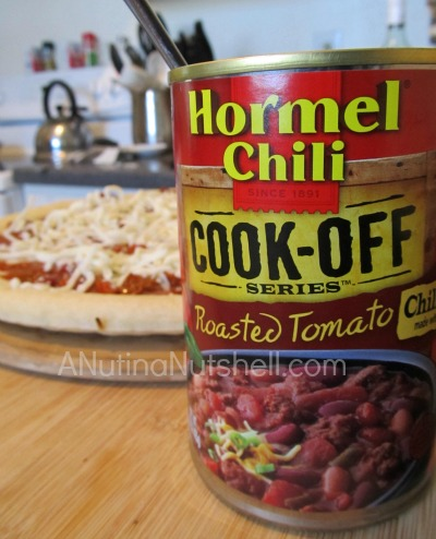 Hormel chili - pizza recipe