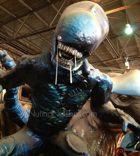 Mardi Gras World New Orleans - alien