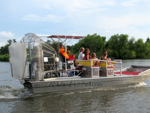 New Orleans Airboat Adventures - airboat
