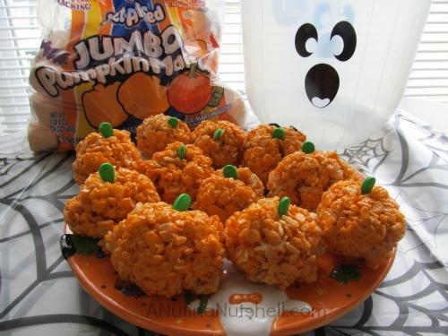 Pumpkin Crispies recipe