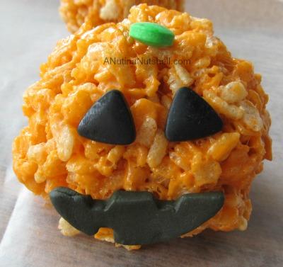 Pumpkin Marshmallow Crisps