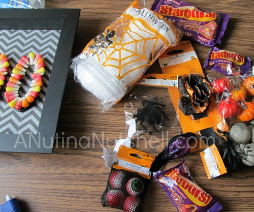 Starburst candy craft - Halloween craft idea