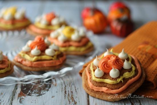 molded flower cookies - Cake Boss novelty bakeware
