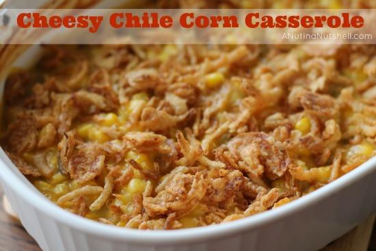 Campbell's Cheesy Chile Corn Casserole