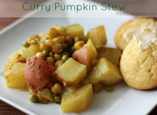 Curry_Pumpkin_Stew #recipe